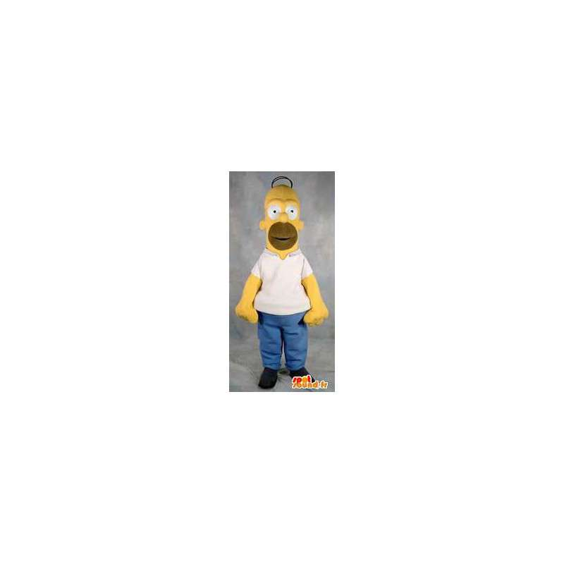 Costume Adult mascot character Homer Simpson - MASFR005375 - Mascots the Simpsons