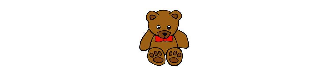 Bear Mascot - Metsäeläimet - Spotsound-maskotit