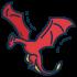 Drachenmaskottchen