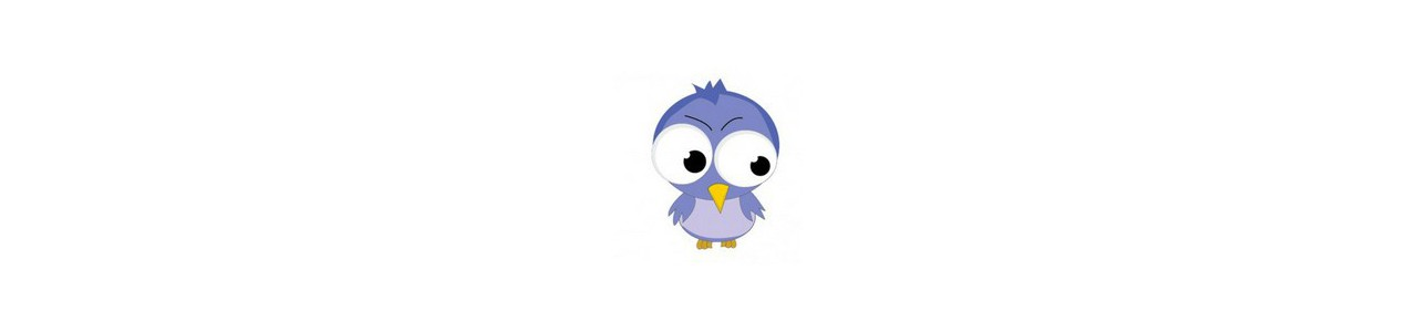 Mascotte d'oiseaux - Skovdyr - Spotsound maskotter