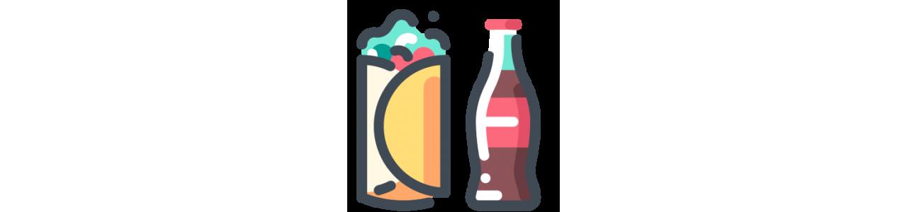 Voedsel mascotte - Klassieke mascottes -