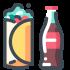 Mascotte di cibo