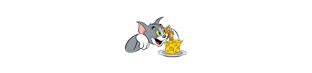 Μασκότ Τομ και Τζέρι - Διάσημοι μασκότ χαρακτήρων