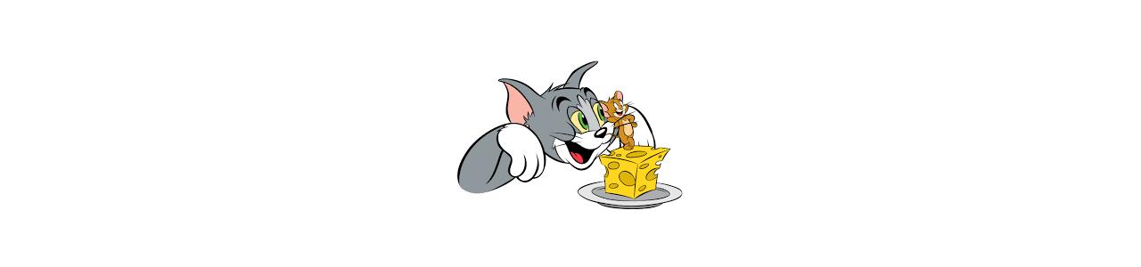 Tom ja Jerry maskotteja - Kuuluisat hahmot
