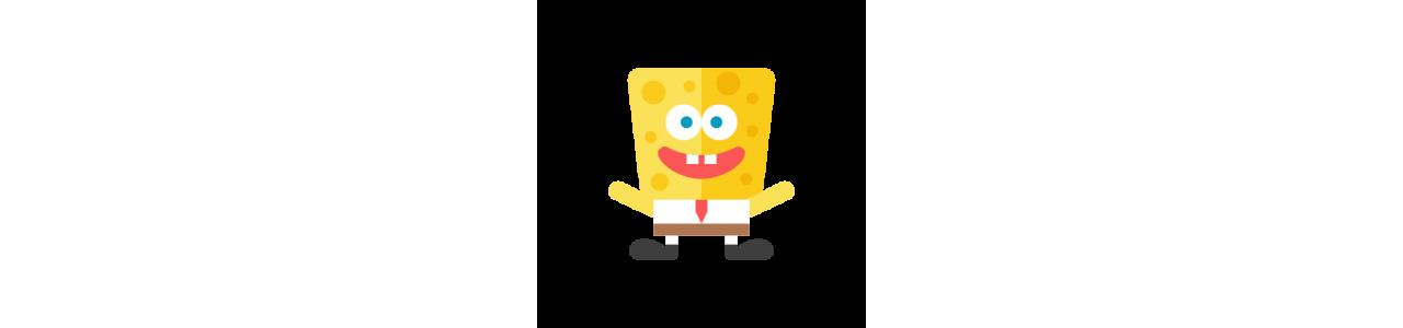 スポンジボブのマスコット - 有名なキャラクターのマスコット - Spotsoundマスコット