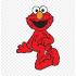 マスコット1rue sesame Elmo