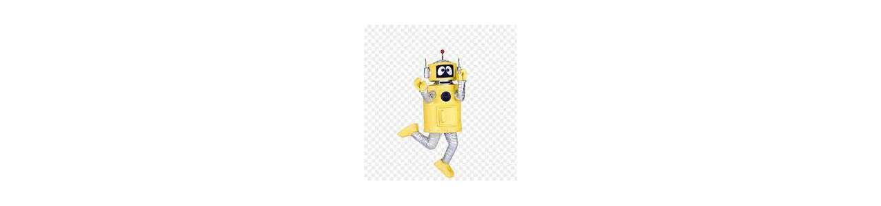Yo GabbaGabbaマスコット - 有名なキャラクターのマスコット -