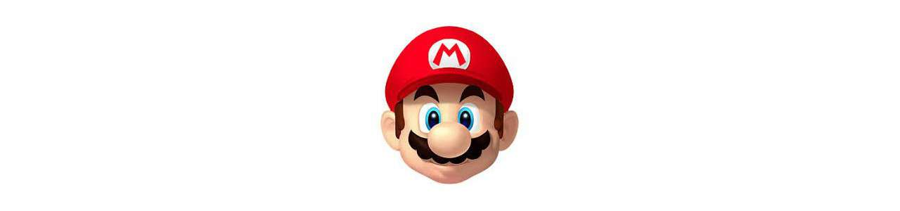 マリオのマスコット - 有名なキャラクターのマスコット - Spotsoundマスコット
