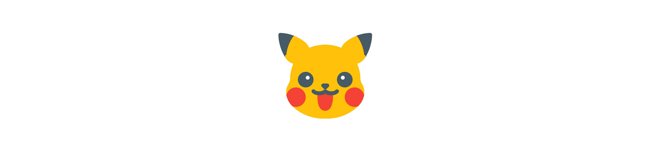 Pokémon-maskotar - Berömda karaktärer maskotar -