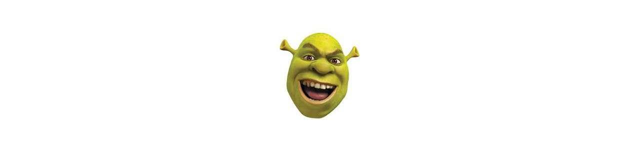 Shrek maskotar - Berömda karaktärer maskotar -