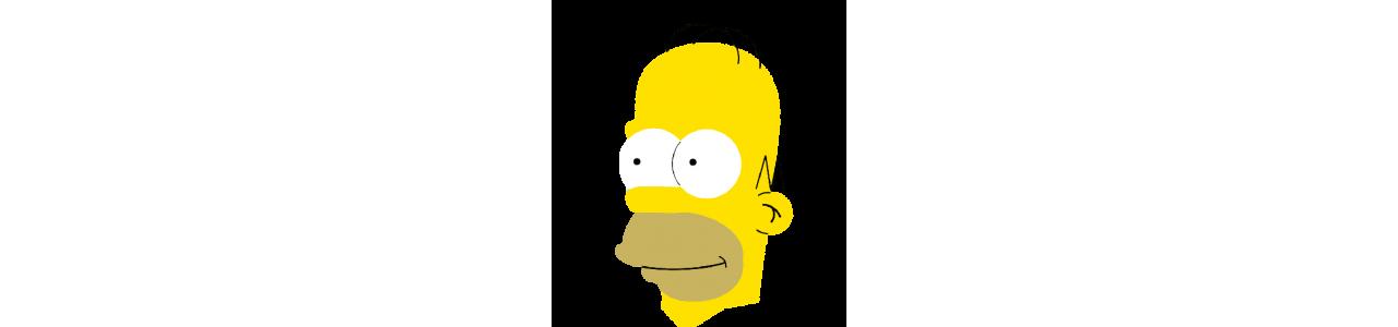 シンプソンズのマスコット - 有名なキャラクターのマスコット - Spotsoundマスコット
