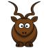 鹿とDoeのマスコット