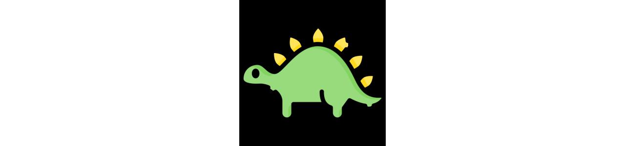 Dinosaurier-Maskottchen - Fehlende