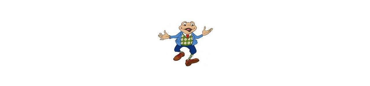 Frog mascots - Forest animals - Spotsound mascots
