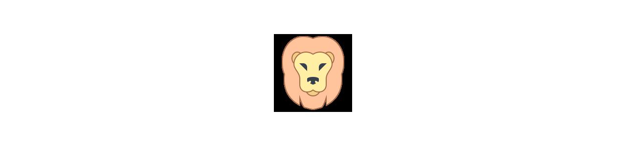 Lion mascots - Jungle animals - Spotsound mascots