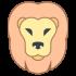 Leeuw mascottes