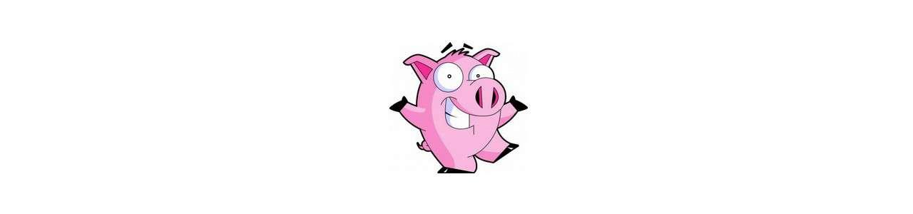 Schweinemaskottchen - Nutztiere -
