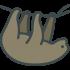 Faultier Maskottchen