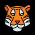 Mascottes van de tijger