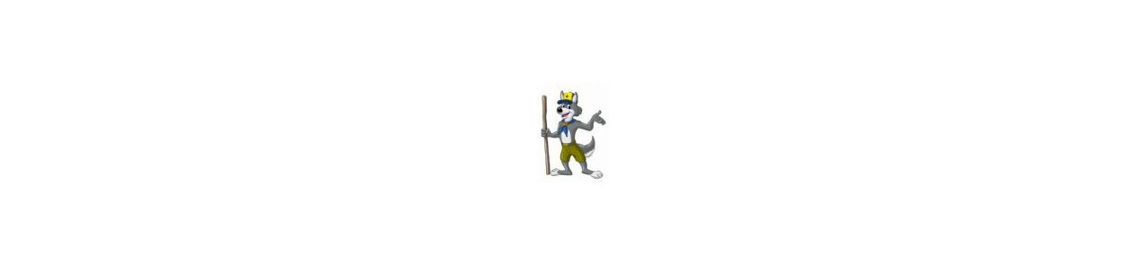 Wolf Maskottchen - Waldtiere -
