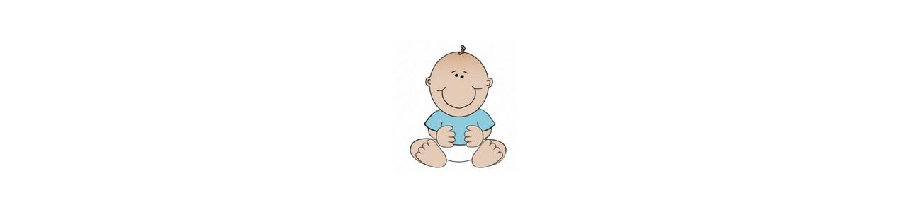 赤ちゃんのマスコット - 人間のマスコット - Spotsoundマスコット