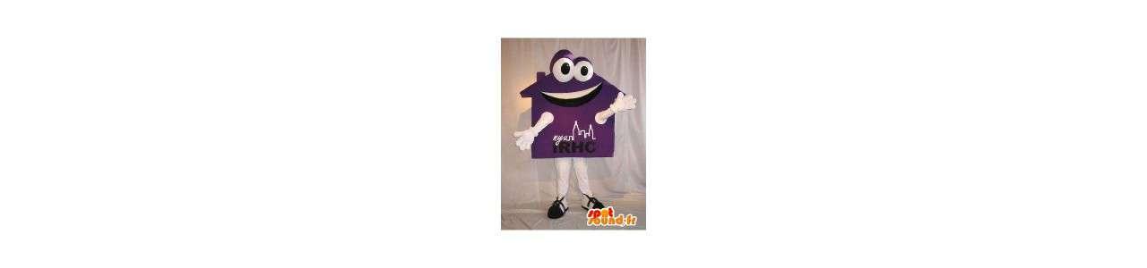 House mascots - Object mascots - Spotsound mascots