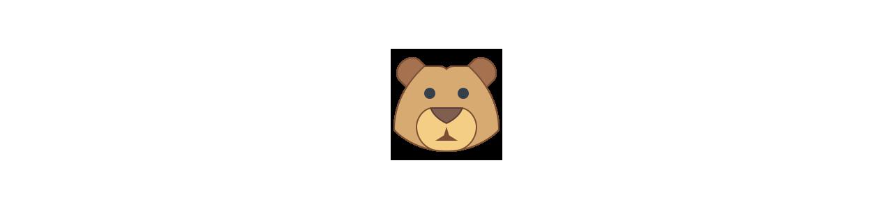 ジャングルの動物 - 動物のマスコット - Spotsoundマスコット