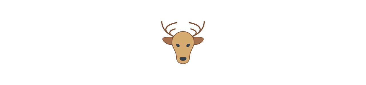森の動物 - 動物のマスコット - Spotsoundマスコット