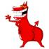 Mascota del toro