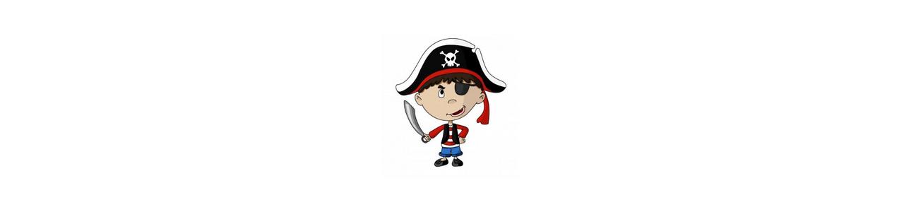 Maskotki piratów - Ludzkie maskotki - maskotki