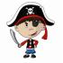 Mascottes van piraten