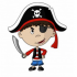 Pirates mascots