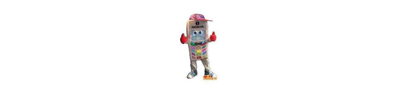 Telefon Maskottchen - Objektmaskottchen -