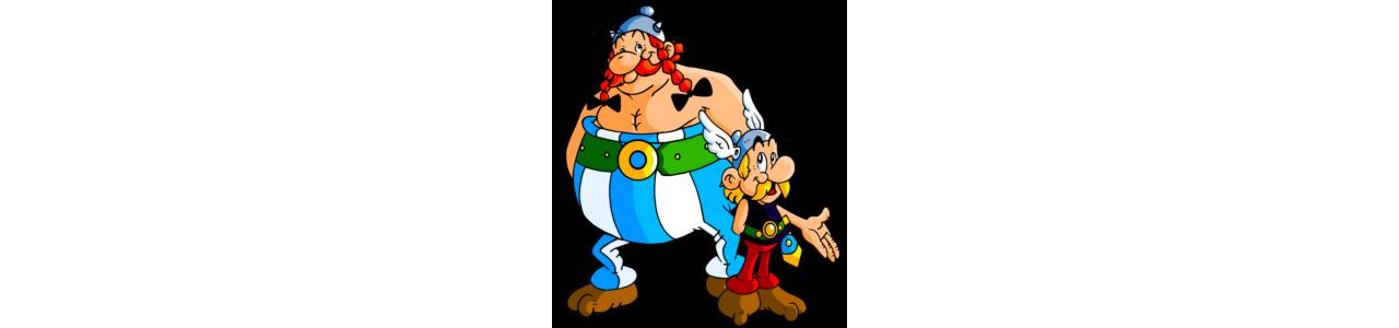 Asterix and Obelix mascots - Famous characters