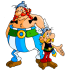 アステリックスとオベリックスのマスコット