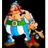 Maskotteja Asterix ja Obelix