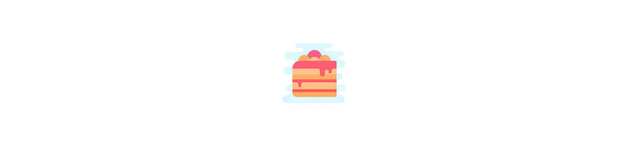 Mascotas de pastelería - Mascota de comida -