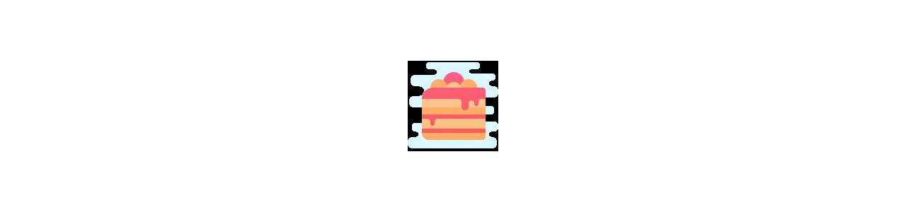 Maskotki ciasta - Maskotka jedzenie - maskotki