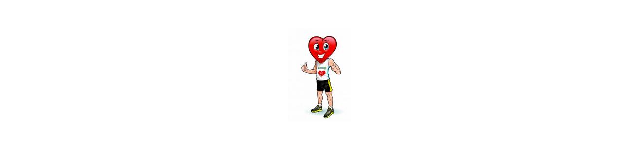 Mascotes coração - Mascotes de festa - Mascotes