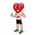 Herz Maskottchen
