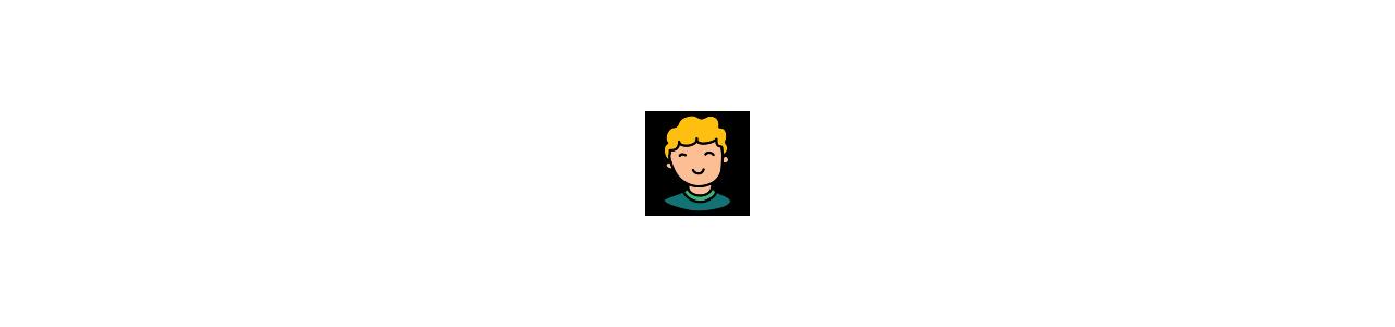 Mascottes pour enfants - Ihmisen maskotteja -