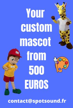 custom spotsound mascot