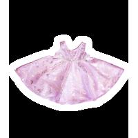 Robe rose. Tenue féminine