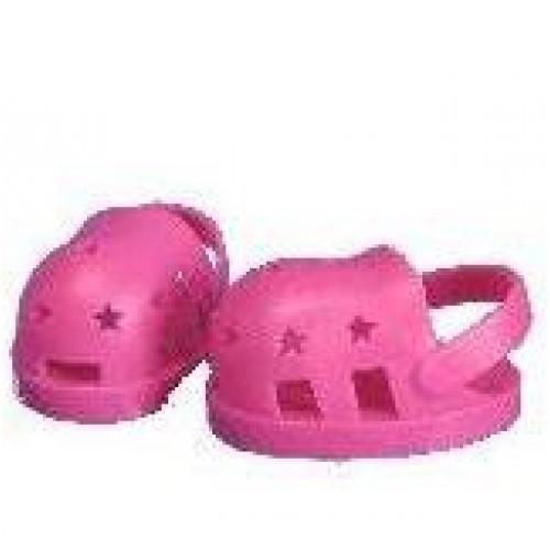 Chaussures roses avec des étoiles