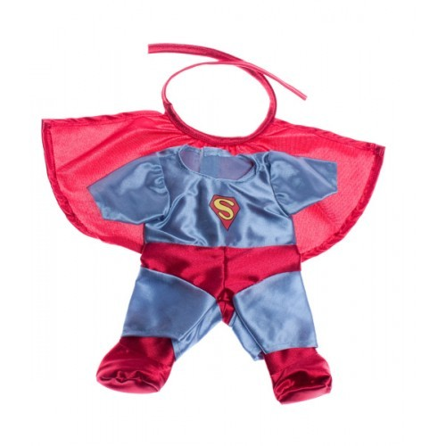 Tenue Superman rouge et bleue