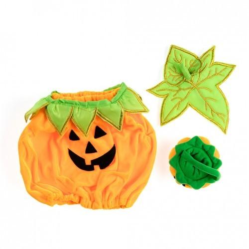 Bonbonnière Halloween en forme de citrouille