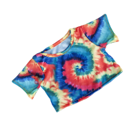 T-shirt multicolore, motif baba-cool