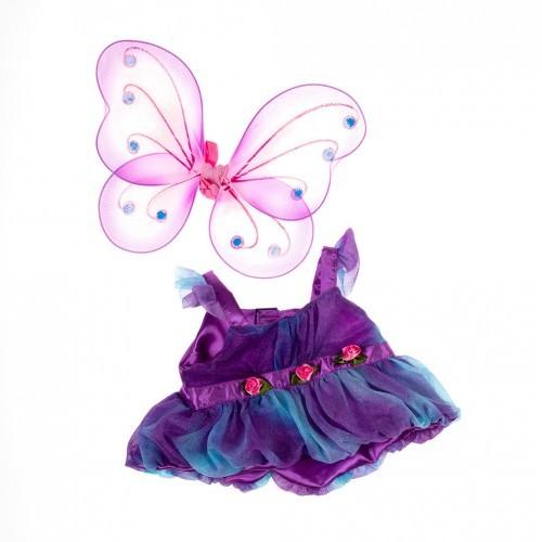 Robe colorée avec des ailes de papillon