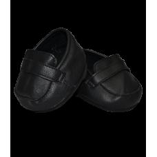 Paire de chaussures noires en cuir