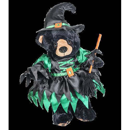 Robe et chapeau pointu de sorcière